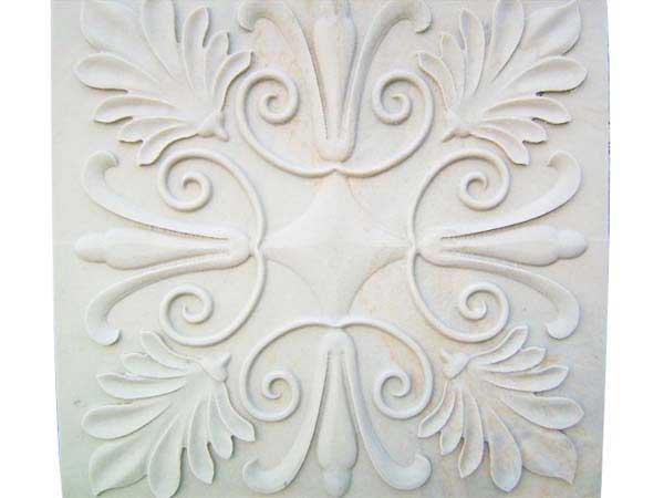 浮雕花_天然石材浮雕-上海悦泉石材雕刻有限公司