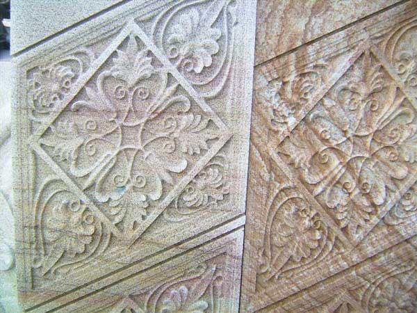 浮雕的材料有石头,木头