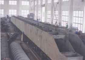 滬東造船廠20T雙梁行車
