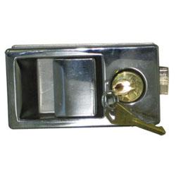 2006-8A型船用不锈钢拉手锁(带锁)