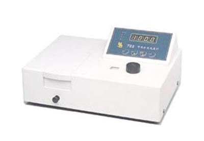 722 visible spectrophotometer series