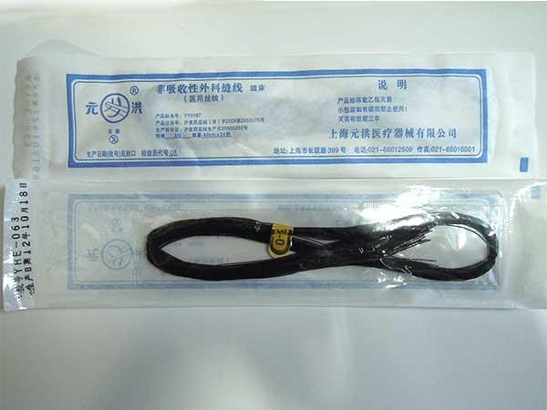 非吸收性外科缝线(医用丝线)