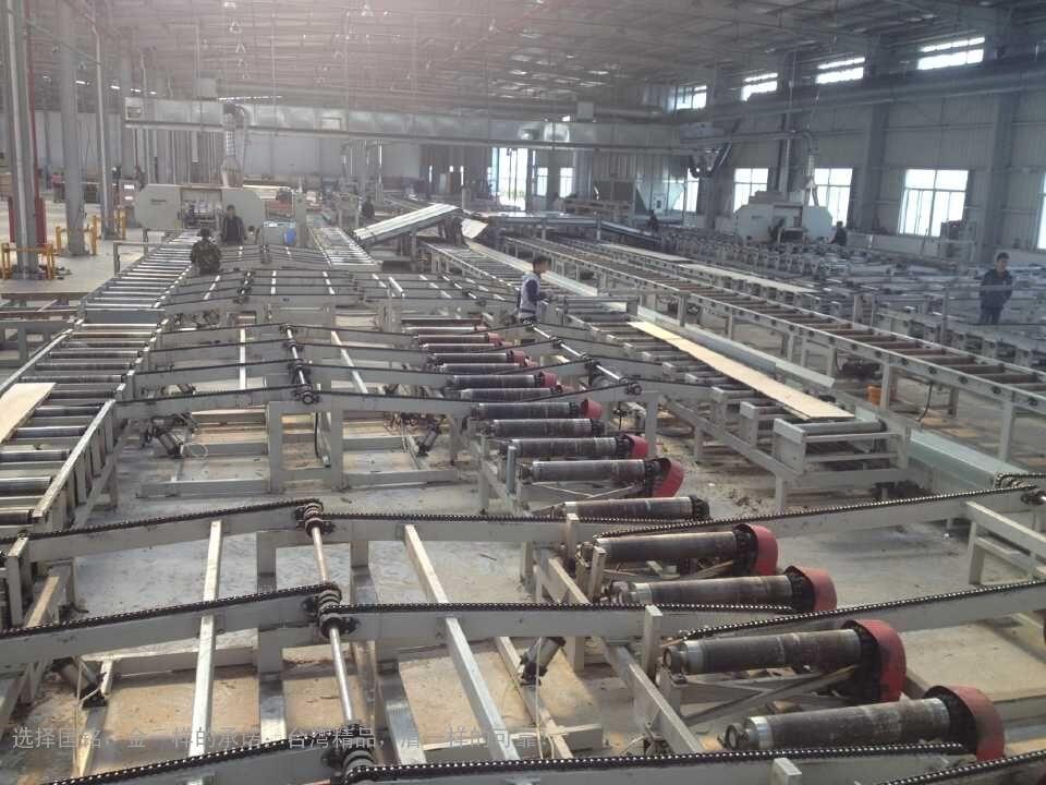 全自动原木生产线
