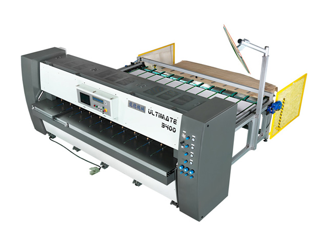 横向无线木皮拼缝机