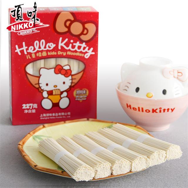 Hello Kitty 顶味儿童挂面 面条 原味 全国1包包邮