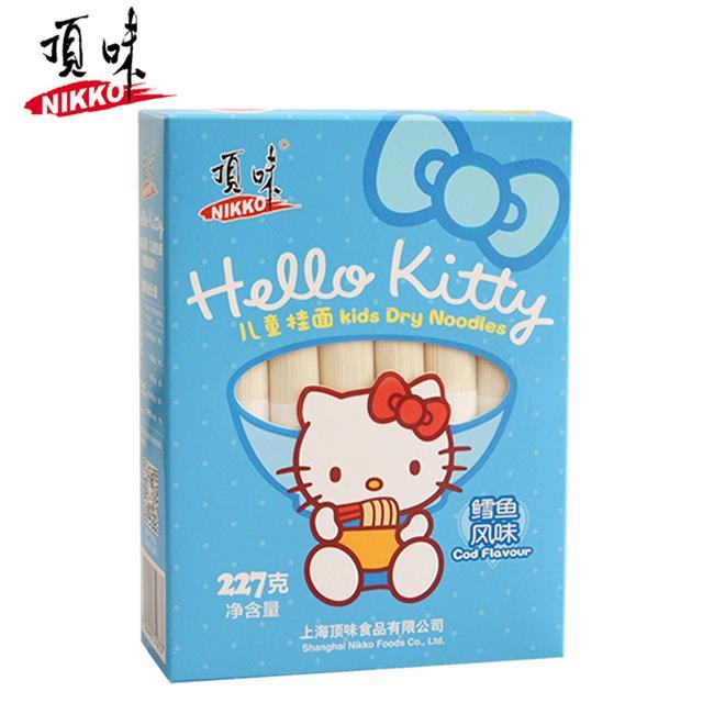 Hello Kitty亚博在线娱乐官网入口儿童挂面深海鳕鱼 全国范围1包包邮