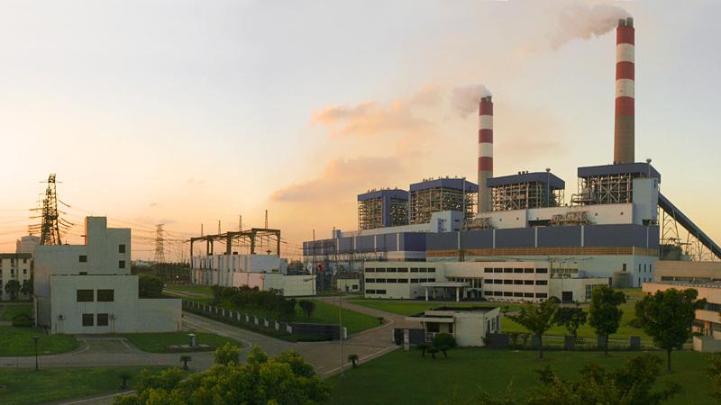 华能上海石洞口发电有限责任公司厂房