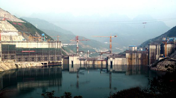 紅水河龍灘水電站