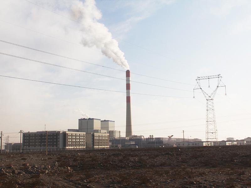 国电电力酒泉电厂全景