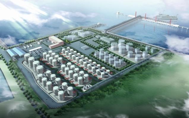 上海亿升海运仓储有限公司鸟瞰图