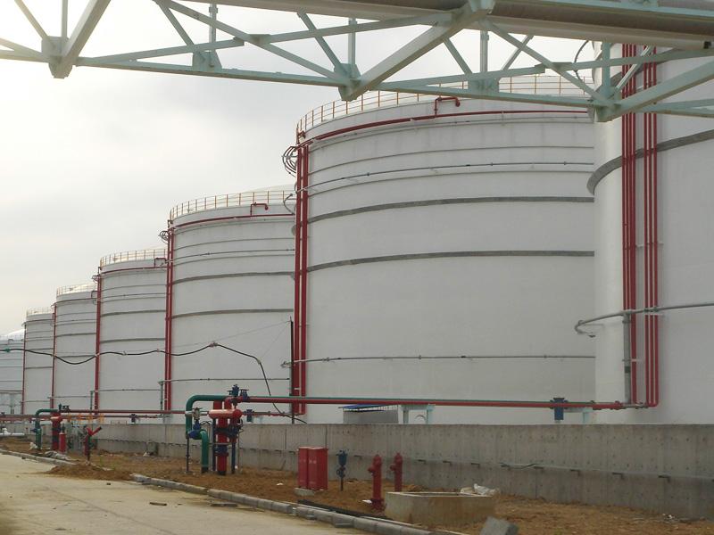 浙江舟山液體化工品中轉基地一期罐區