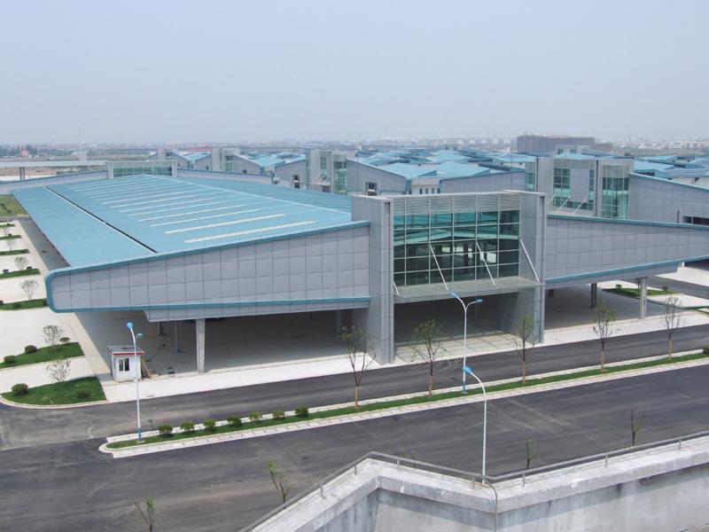 上海西郊國際農產品交易中心外景