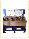 JP020.4 four spindles lapping and polishing machine