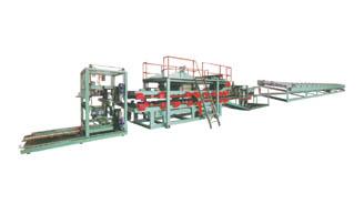 SGF-1200 卧式EPS或岩棉彩钢夹芯复合机
