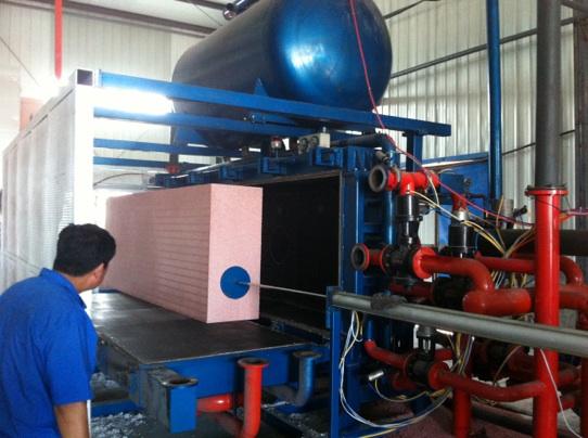 热固型改性聚苯板生产线