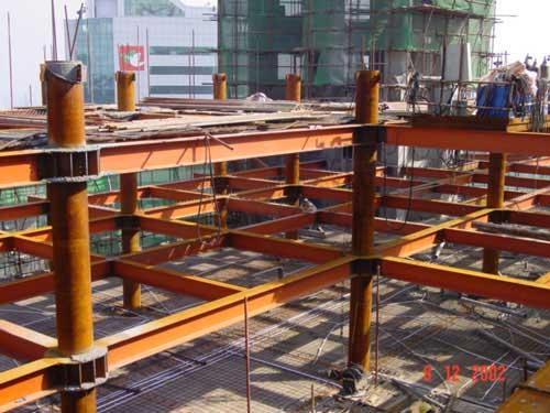 大型建筑钢结构_各类工业钢结构_高端进口地暖地板_钢