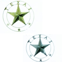 "TEXAS STAR 45"" W/RING"