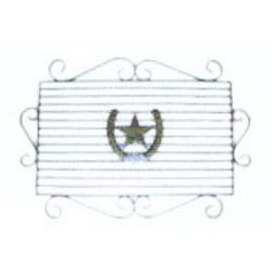 Texas Door Mat(Gold)