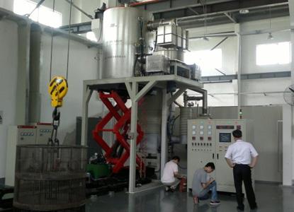 用途:硅钢片真空热处理,最大装载量1.8吨;特点:炉体无需水冷