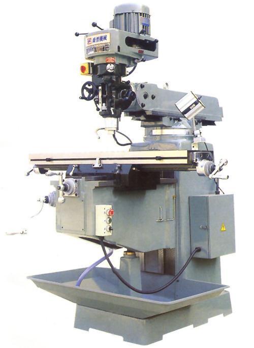 立式炮塔铣床型4S