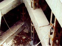 基坑开挖时井管可随开挖深度增加,逐段拆除