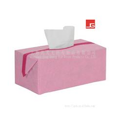 无纺布纸巾盒(粉色系列)