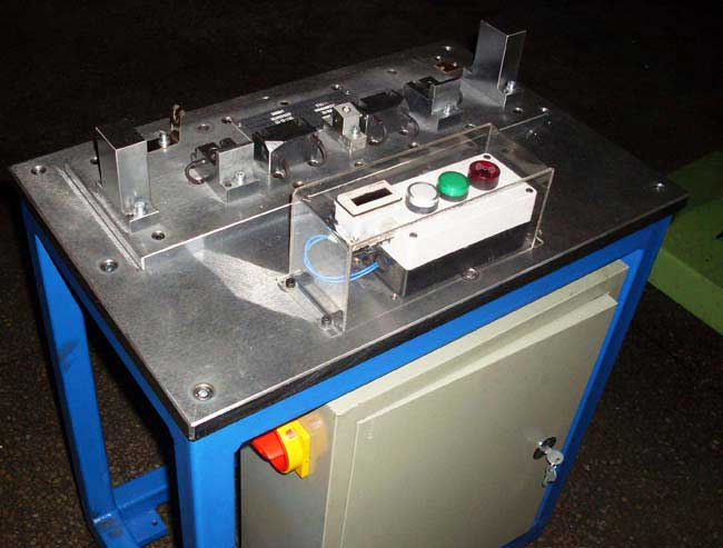 公司代客设计,制作各种专用非标设备.