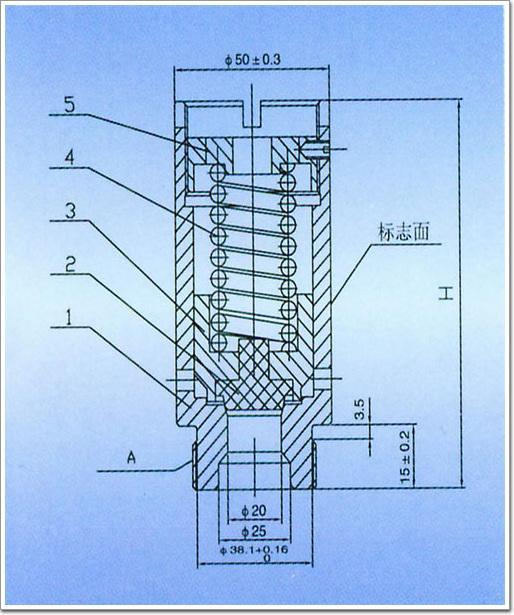 sfa-22c300c冷冻机压缩机安全阀图片