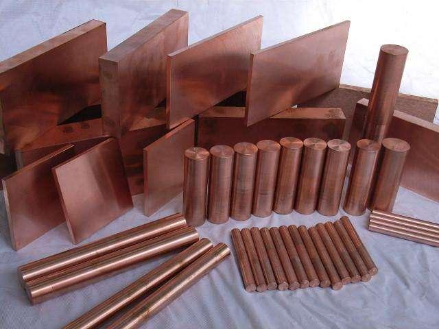 C18150铬锆铜棒板