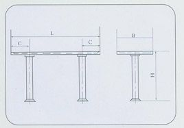 不锈钢长桌