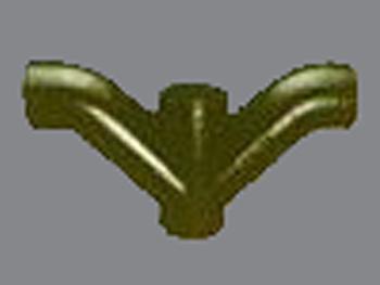 W型四通柔性铸铁管
