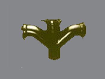 TY型四通(RC)柔性铸铁管
