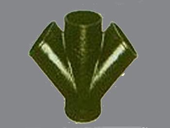 Y型三通柔性铸铁管