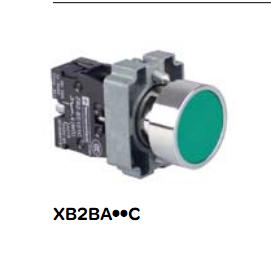 原装正品SCHNEIDER金属平头按钮XB2-BA11C