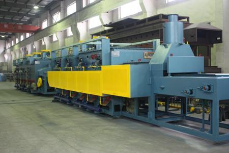 燃气网带炉生产线