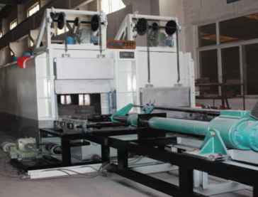 Heat-recovery & energy-saving forgings normalizing and annealing furnace