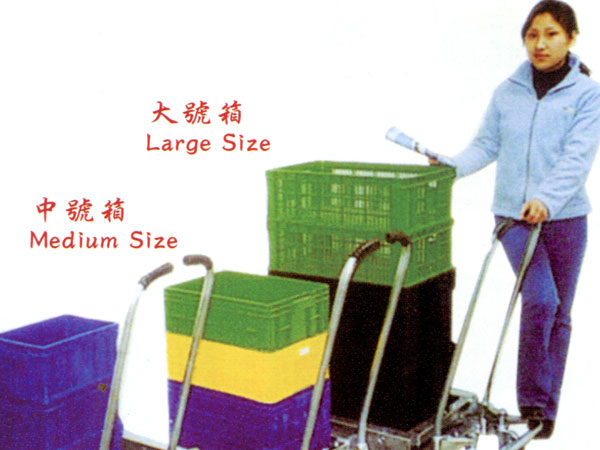 省力周转箱搬运车<br>Labor-saving reusable container carts
