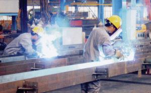 H型钢制作
