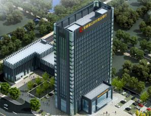 安徽潛山農業商業銀行金融綜合大樓工程