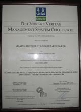 DNV质量管理体系认证