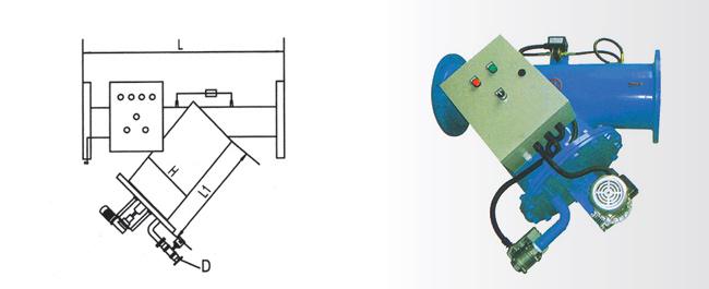 電動刷式過濾器