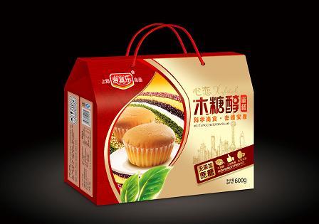 木糖醇蛋糕(盒装608g)