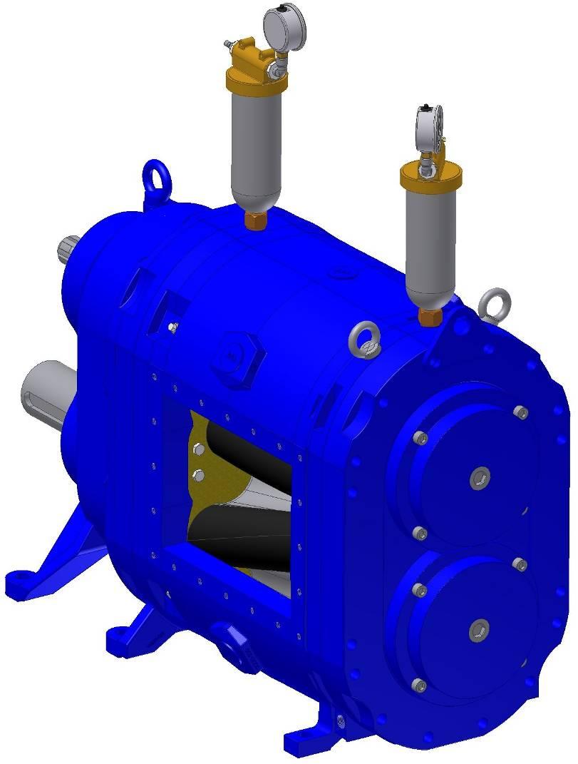 格米克超大流量转子泵