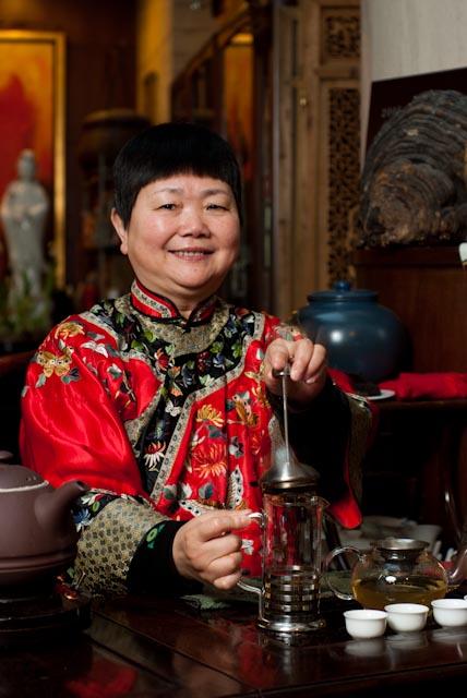 上海秋萍茶宴董事长——刘秋萍