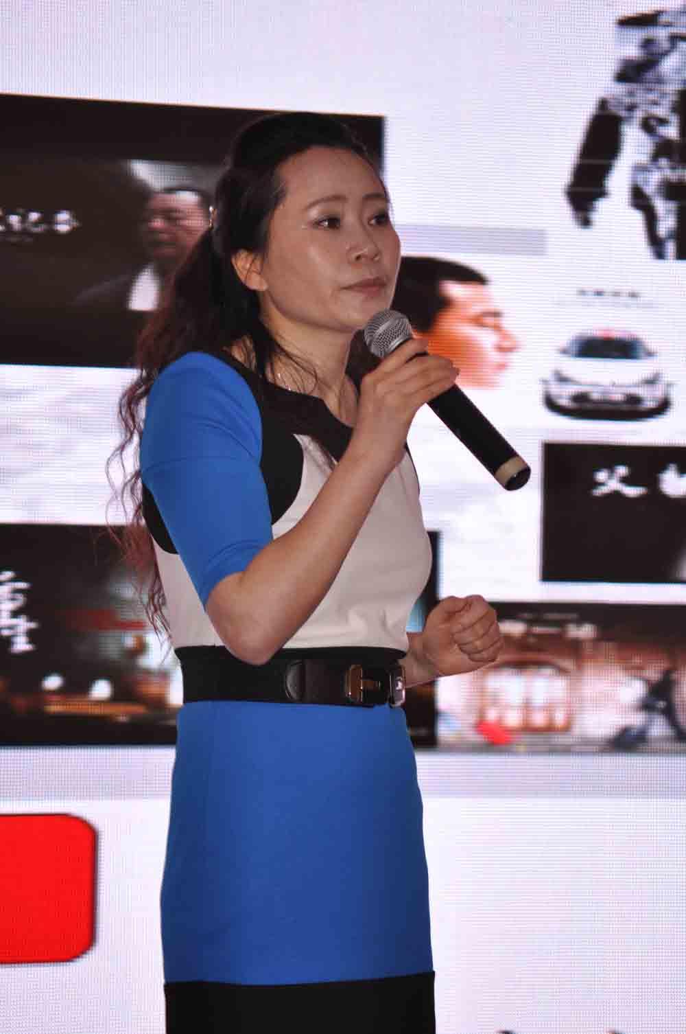 华人上海频道副总裁讲话