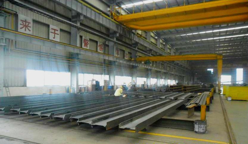 重型工业厂房结构系统