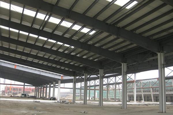 大跨度门式钢架结构系统
