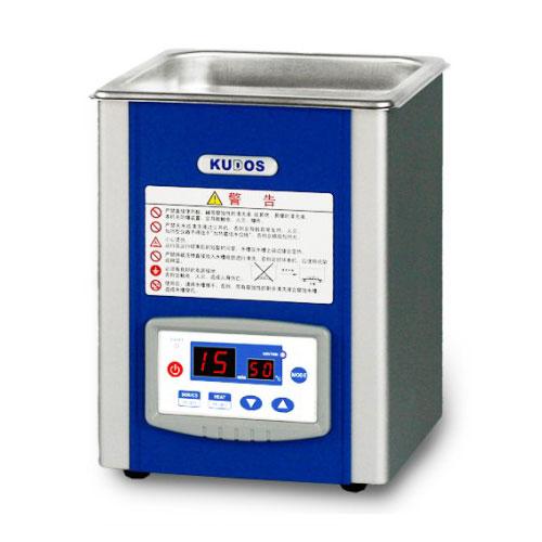 低频、带加热型台式超声波清洗机