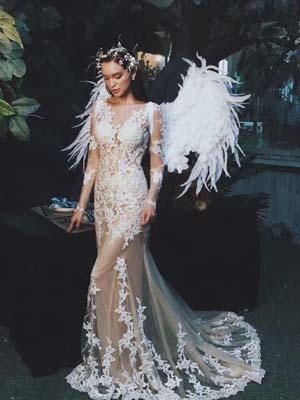 氧气女神Liza 婚纱系列集锦