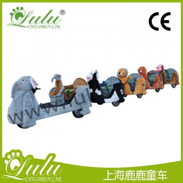 动物火车系列--大型大象